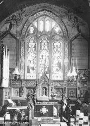 Evesham, Hampton, St Andrew's Church, Reredos And East Window 1895
