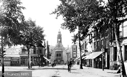 High Street 1910, Evesham