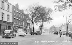 High Street c.1955, Evesham
