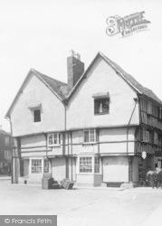 Evesham, Market Place 1901