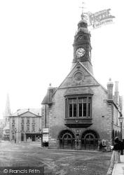 Market Square, Town Hall 1893, Evesham