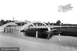 New Bridge And Viaduct 1922, Evesham