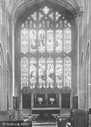St Lawrence's Church, East Window 1901, Evesham