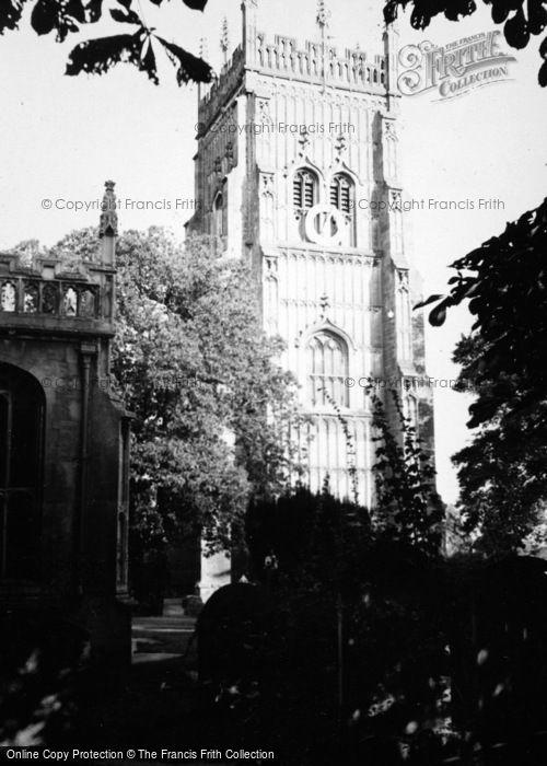 Photo of Evesham, The Abbey 1948