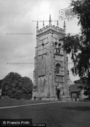 The Abbey c.1950, Evesham