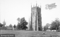 Evesham, The Bell Tower And Spires 1892