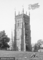 The Bell Tower And Spires 1892, Evesham
