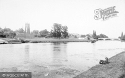 The Bell Tower And The Avon 1892, Evesham