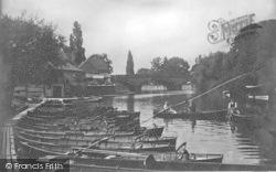 The Bridge And Boat Yard 1922, Evesham