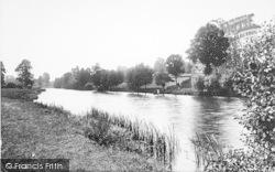 Evesham, The Hampton Ferry 1892