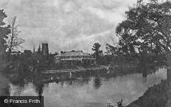 The River And Abbey Park 1922, Evesham