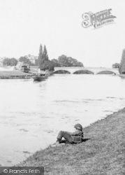 Evesham, The River Avon 1892