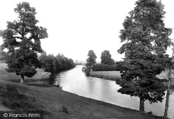 Evesham, The River Avon 1895