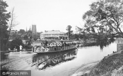 Evesham, The River Avon 1922