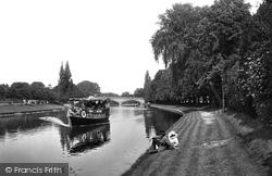 The River Avon And Bridge 1922, Evesham