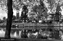 Evesham, The River Avon c.1958
