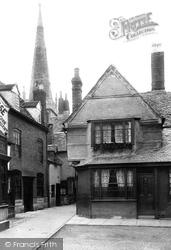 Evesham, Vicarage Court 1892