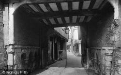 Evesham, Vicarage Court 1895