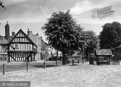 Vine Street And Stocks c.1955, Evesham