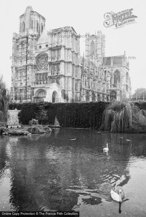 Photo of évreux, Cathedral 1964
