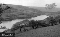 Ewden Valley Looking Towards Broom Head c.1960, Ewden Village