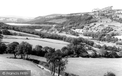 Ewden Village, Reservoir And Village From Brightholmlee c.1960