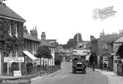 Ewell, Bus, High Street 1924
