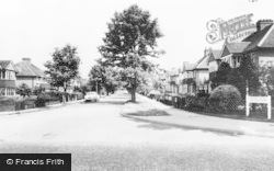 Ewell, Chestnut Avenue c.1965