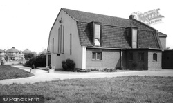 Ewell, Church Of St Francis Of Assisi c.1965