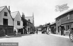 Ewell, High Street 1925