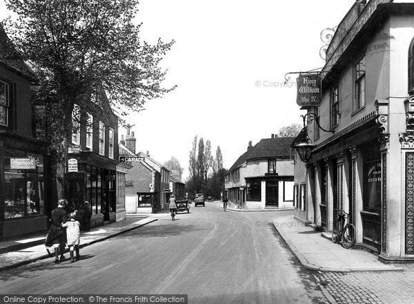Photo of Ewell, High Street 1925, ref. 76673