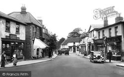 Ewell, High Street 1934