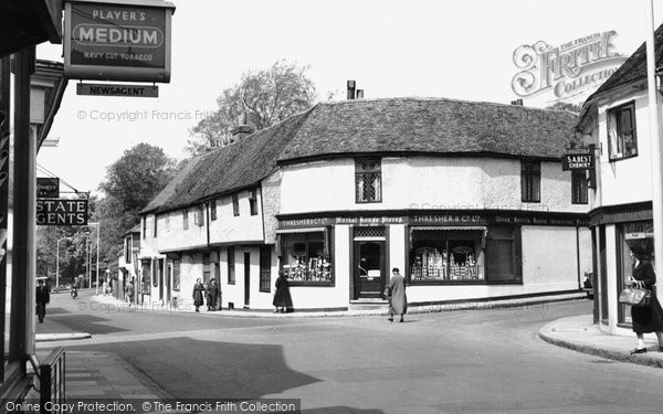Ewell, High Street, c.1955 Reproduced courtesy of The Francis Frith Collection