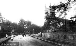 Ewell, London Road 1903