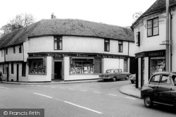 Ewell, Market House Stores c.1965