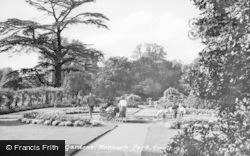 Ewell, Nonsuch Park, Gardens c.1955
