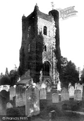 Ewell, Old Church Tower 1903