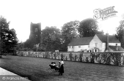 Ewell, Old Church Tower And Rectory Farm 1903