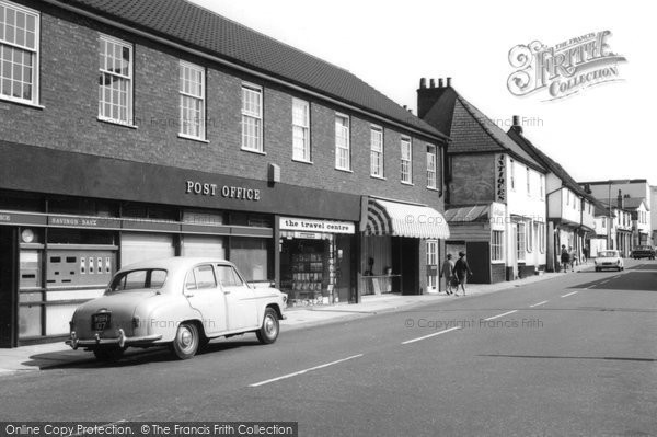 Photo of Ewell, Post Office c1965, ref. E45228