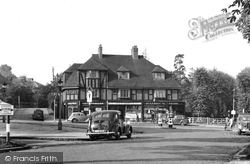 Ewell, Reigate Road And High Street c.1955