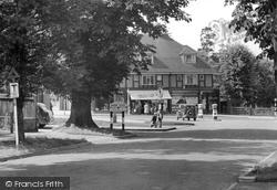 Ewell, Reigate Road c.1955