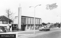 Ewell, St Clement's Roman Catholic Church c.1965