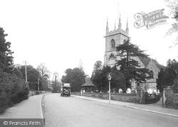 Ewell, St Mary's Church 1925