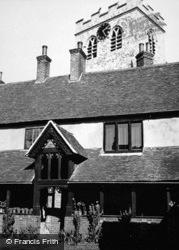 Church And Almshouses c.1950, Ewelme