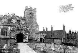Church Of St Mary The Virgin And Almshouses c.1950, Ewelme
