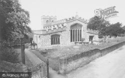 Church Of St Mary The Virgin c.1960, Ewelme