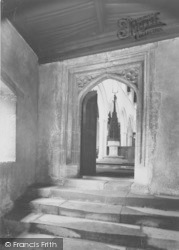Entrance To The Church And Almshouses c.1950, Ewelme