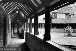 The Almshouses Arcade c.1950, Ewelme