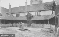 The Almshouses c.1950, Ewelme