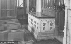 The Chaucer Tomb c.1950, Ewelme